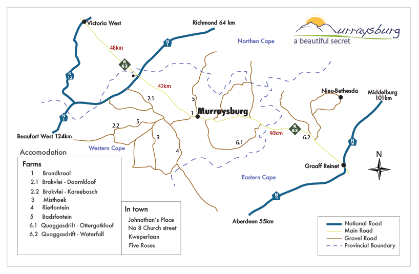 Murraysburg kaart 2017